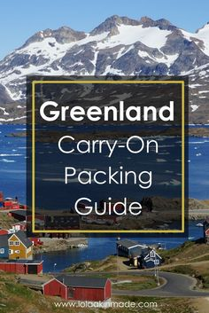 A photographer's guide to packing for Greenland. Practical tips for Arctic carry-on travel including a list of cameras, lenses and gear. | Geotraveler's Niche Travel Blog
