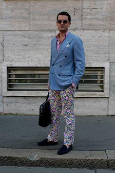 street style moda en la calle semanas de moda masculina menswear londres milan…