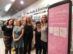 Thank you to Waterstones Meadowhall for hosting our first ever Girls on Tour event with bestselling authors Paige Toon, Milly Johnson and Jane Costello