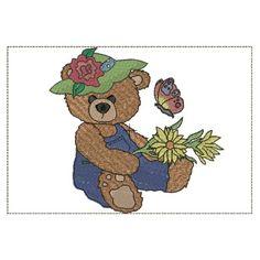 summer bears set of 6