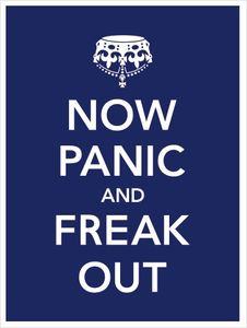 Now Panic and Freak Out by Olly Moss