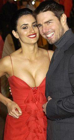 Tom Cruise y Penélope Cruz Esta relación fue antes de Katie Holmes ...