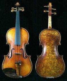 stradivarius violin | BIRD EYES MAPLE Strad Violin 4/4 BIRD EYES FITTINGS