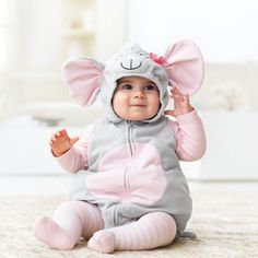 Fleece Little Mouse Halloween Costume - found this for Maddie at a garage sale for $5.  so cute.