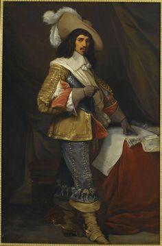 Comte Jean de Gassion, Maréchal de France (1609-1647).