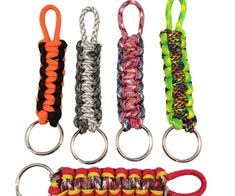 Learn How to make a Paracord Keychain, supplies you will need; about 3 feet of Paracord, Key ring, scissors and lighter. It will take about 10 minutes...