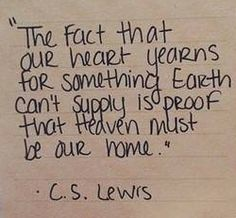 C S Lewis on Heaven