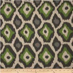 Premier Prints Adrian Blend Laken Organic Green