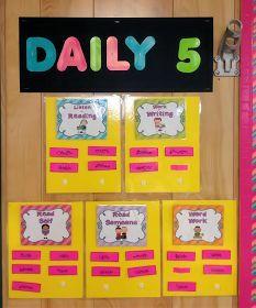 Teacherific: Daily 5 Part 1