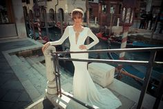 The seductive nature of Venice is the backdrop that frames the enticing romance of Yaki Ravid's 2015 Fall/Winter bridal collection for Strictly Weddings.