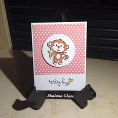 Look Back at December | So Suzy Stamps Blog - Monkey Hugs - Shalana Glass