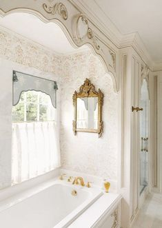 - Classic bathroom style has been widely used for decades. There are a lot of families who like designing a classic bathroom - this style is not out of . Romantic Bathtubs, Romantic Bathrooms, Luxury Master Bathrooms, Dream Bathrooms, Beautiful Bathrooms, Master Baths, Small Bathrooms, Master Bedrooms, Classic Bathroom