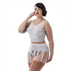 All of my Everyday Glamour suspender belts have been restocked! This is the 10 strap suspender belt that is perfect for everyday wear or glamorous photo shoots! Head over to shop.thenylonswish.com to get yours! #thenylonswish