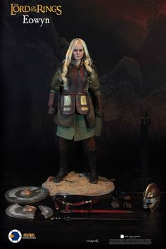 "Eowyn Lord of the Rings 1/4 Scale (18"") action figure"