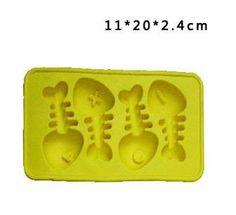 Silicone Soap Mold Fishbone
