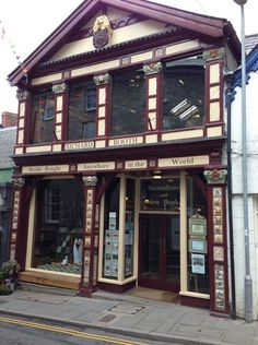 Richard Booth's Bookshop in Hay-on-Wye, Wales, contains hundred of thousands of secondhand and antiquarian titles.