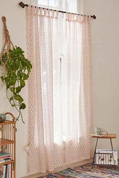 Plum & Bow Bhuti Curtain - Urban Outfitters