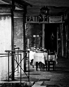 Black and White Italy Photography  Travel Venice door GoodCamera