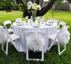 This picture features our Original Feather Wedding Wreath. I just love this look!!!