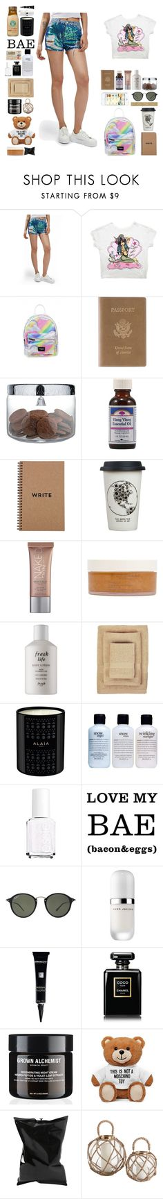 """""""Sem título #12004"""" by nathsouzaz ❤ liked on Polyvore featuring Topshop, Royce Leather, Alessi, Ylang Ylang, Natural Life, Urban Decay, African Botanics, Fresh, Nine Space and philosophy"""