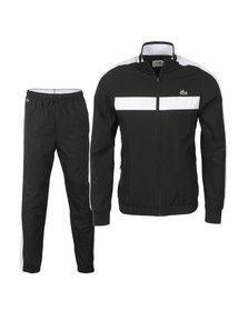 Lacoste Sport Mens Black WH1560 Tracksuit