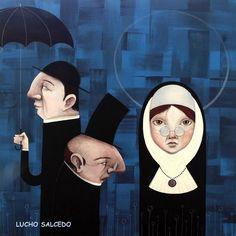 Lucho Salcedo, artista colombiano