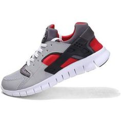 52a4e42bd323 Buy Latest Deal Nike Huarache Free Mens Run Trainers LE Grey   Red Online  from Reliable Latest Deal Nike Huarache Free Mens Run Trainers LE Grey    Red ...