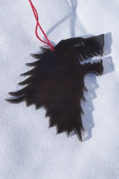 Acrylic Ornament House Stark symbol from Game of by akicafe, $5.00