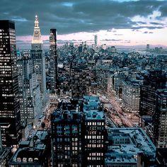 NYC. Flatiron District, Manhattan