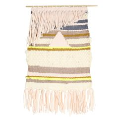 'mojave' wall hanging by kate bieschke. Weaving for shopisosceles.com #textiles #weaving #tapestry