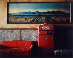 Wim Wenders, Ohne Titel (aus der Serie: Written in the West), 1983, Auktion 1050 Photographie, Lot 171 #wimwenders #lempertz #cocacola #america #photography