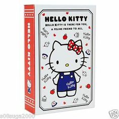 Hello kitty Book Safe SANRIO from JAPAN