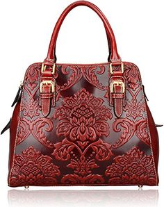 Pijushi Fashion Ladies Floral Leather Tote Top Handle Handbags Cross Body Bags 91754 (Red) PIJUSHI http://www.amazon.com/dp/B017SUU7JS/ref=cm_sw_r_pi_dp_Nwc6wb037EYDQ