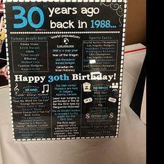 Birthday for Him Australia, Australian Birthday for Her, 1979 Birthday Sign, Back in 1979 Australia Facts, Happy Birthday Birthday Pins, Happy 40th Birthday, Birthday For Him, Birthday Gifts For Girls, Costco, 40th Bday Ideas, Birthday Decorations For Men, Personalized Birthday Banners, Birthday Chalkboard