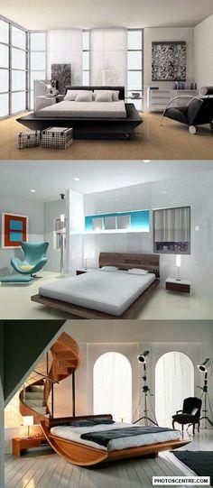 Interior design bedroom - 10 PHOTO!