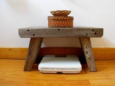 driftwood stuff - foot stool