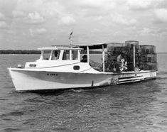 Crabbing boat - Apalachicola, Florida