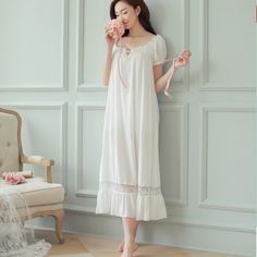 2d2586c46b 27 Best 100% cotton vintage nightgowns images