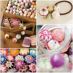 Cute wool balls