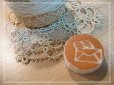Hand Carved Airmail Rubber Stamp Made to Order by OnonHandicraft, $8.00