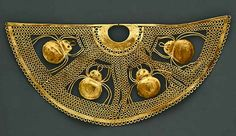 Peru – gold nose ornament – MET 1st century B.C. –2nd century A.D
