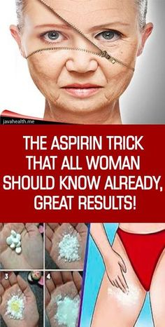 10 aspirin tricks every woman should know about! Everyone knows that Aspirin is used to treat fever, swelling, arthritis, and alleviate pain but did you know that you can use aspirin to treat so many other mild to moderate health issues? Beauty Skin, Health And Beauty, Beauty Care, Beauty Makeup, Remove Sweat Stains, Skin Care Routine For 20s, Tips Belleza, Health Remedies, Natural Health