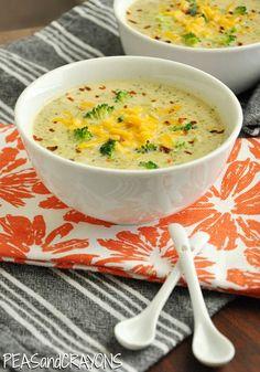 Broccoli Cheese Soup #recipe