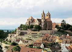 Breisach - town of wineries (must try to find wine from here for Kelly and Drew)