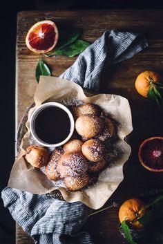 Orange & Vanilla Fritters