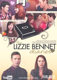 If you haven't seen The Lizzie Bennet Diaries you seriously need to <3