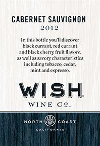 Wish Wine Co. Shelf Talker