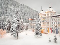 Have you been to Kempinski Hotel in St Moritz?