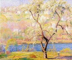 Pear Tree - (1) de Daniel Garber (1880-1958, United States)