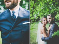 Teale Photography » Weddings, Engagements, Portraiture Blue Suit  Nashville wedding